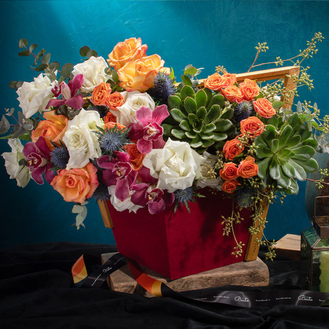 Aegina Floral Gift Styling