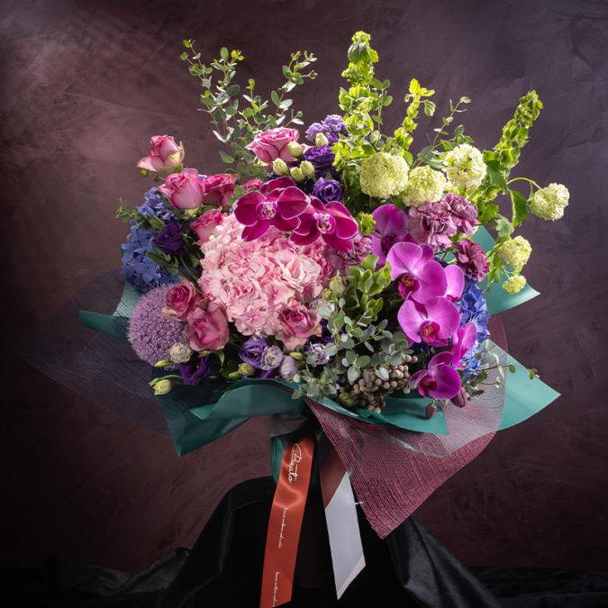 Aurora Podium Bouquet