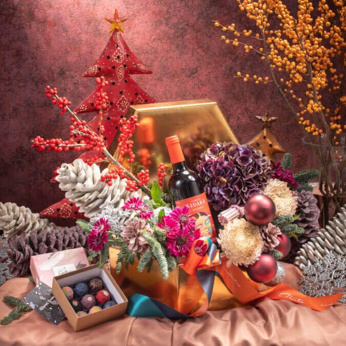 Wintumber Floral Giftbox